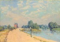 Der Weg nach Hampton Court, 1874