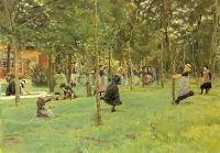 Spielende Kinder, 1882