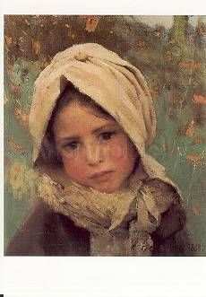 Ein kleines Kind. A little Child. Un petit enfant, 1888.