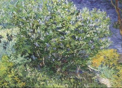 The Lilac Bush. Der Fliederbusch, 1889.