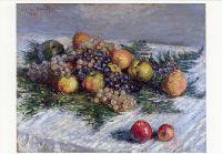 Stilleben mit Birnen und Trauben, 1880