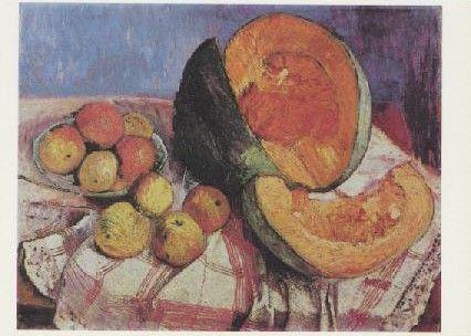 Stilleben mit Kürbis, 1905