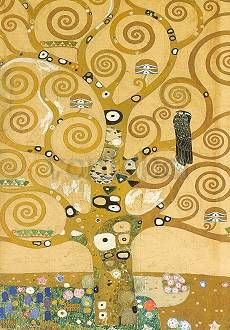 Der Lebensbaum, The Tree of Life, L'arbre de vie, Stoclet-Fries (Werkvorlage), 1905/1909