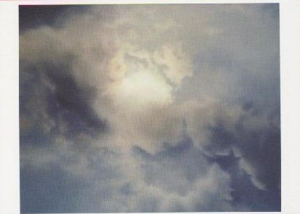 Wolkenstudie (Gegenlicht), 1970