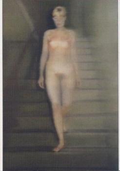 Ema-Akt auf einer Treppe, 1966