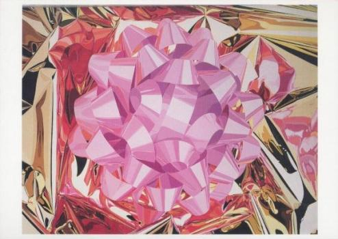 Pink Bow, 1986. Rosa Schleife. Noeud Rose.
