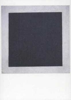 Schwarzes Quadrat auf weißem Grund. Black Square on White Ground. Carre noir sur fond blanc, 1915