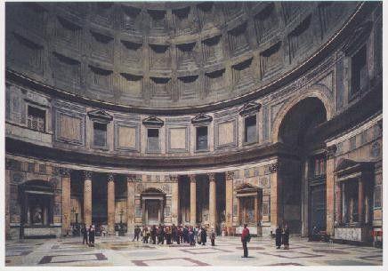 Pantheon, Rom 1990