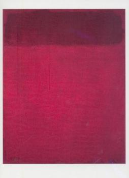 Roter Farbverlauf, Rothko Number 1268.67, 1967