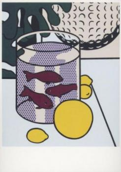 Stilleben mit Goldfisch. Still Life with Goldfish, 1972