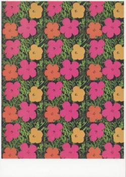 Flowers. Cover des Ausstellungskataloges Moderna Museet Stockholm, 1968