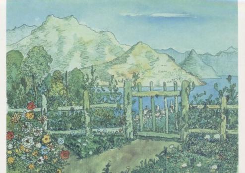Meine neugepflanzte Hecke, 1931