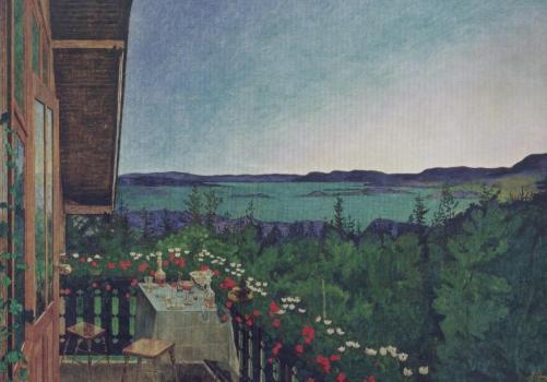 Sommernacht. Summer night, 1899