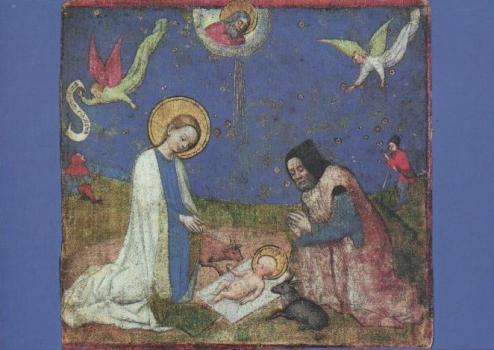 Anbetung des Kindes. Adoration de l'enfant. Adoration of the Child, 1445