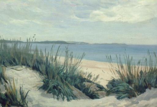 Dünen an der Ostsee. Dunes at the Baltic Sea, 1905