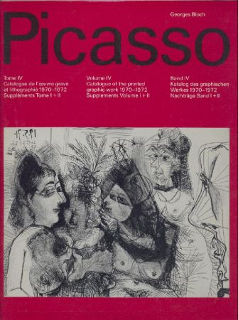 pablo picasso volume iv catalogue of the printed graphic work